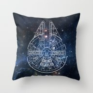 Millennium  Throw Pillow