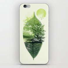 Live in Nature iPhone & iPod Skin