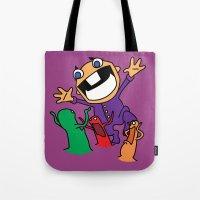 Alien Evasion Tote Bag