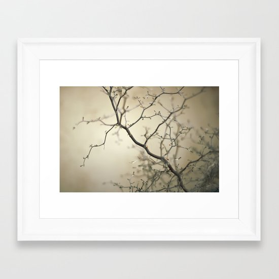 treefingers Framed Art Print