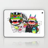 Totoro Fan Art (cat Bus)… Laptop & iPad Skin