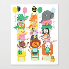 Party Canvas Print