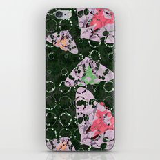 Flowers and Moths iPhone & iPod Skin