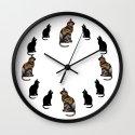 CAT TIME Wall Clock
