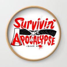Survivin' Wall Clock