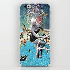 Happy Hippy Hippo iPhone & iPod Skin