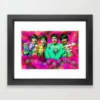 Sgt. Pepper's Lonely Hearts Club Band Framed Art Print