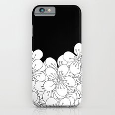 Cherry Blossom Boarder iPhone 6 Slim Case
