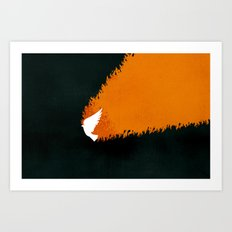 Tongues of Fire (by Brian Danaher) Art Print