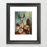 DressForm Deer #2 Framed Art Print