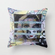 Le Cabaret Throw Pillow