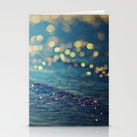 Beach Bokeh Stationery Cards