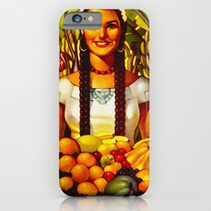 Vintage Bountiful Mexico Travel  iPhone 6 Slim Case