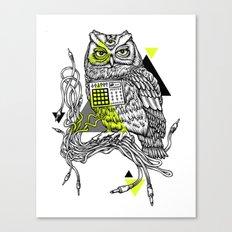 DiscOwl 2c Canvas Print
