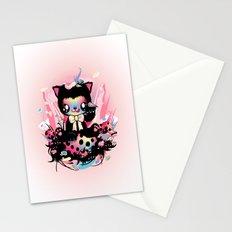 Lucky kitty Stationery Cards
