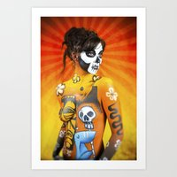 VooDoo Woman Art Print