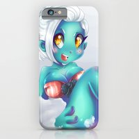 iPhone & iPod Case featuring Asha Von Zombie by Lucy Fidelis