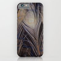iPhone & iPod Case featuring White Peacock Dream by Andrew Sliwinski
