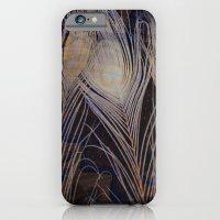 White Peacock Dream iPhone 6 Slim Case