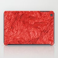 iPad Case featuring Very Thick Painted, Fire… by MehrFarbeimLeben
