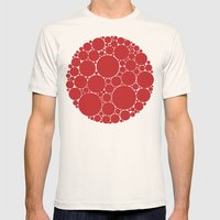 The Red Dot Mens Fitted Tee Natural SMALL
