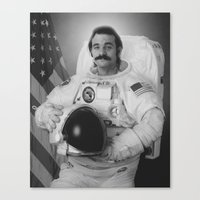 Bill Murray Is An Astron… Canvas Print