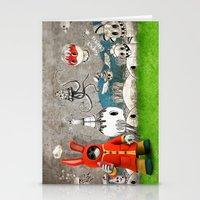 Super Bunny Stationery Cards