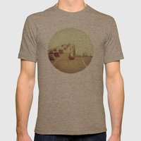 Fork in the Road Mens Fitted Tee Tri-Coffee SMALL