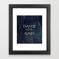 Dance in the Rain Framed Art Print