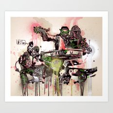 This Time Tomorrow Art Print