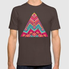picchu pink Mens Fitted Tee Brown SMALL