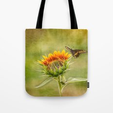 Yang Sunflower Tote Bag