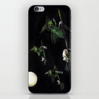 Three Witches On Brooms … iPhone & iPod Skin