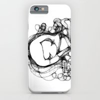 doodle girl illustration  iPhone 6 Slim Case