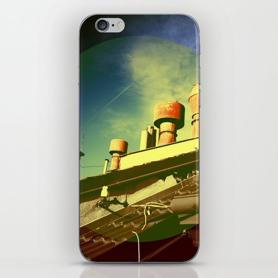 And Even The Sky Was Golden iPhone & iPod Skin