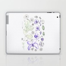 Violet Watercolor Laptop & iPad Skin