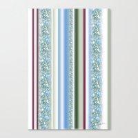 Canopy Stripe Canvas Print