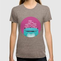 Moshi Womens Fitted Tee Tri-Coffee SMALL