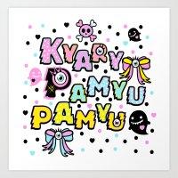 Kyary Pamyu Pamyu 2 T-Sh… Art Print