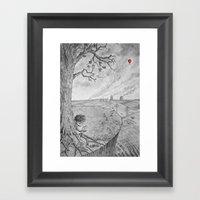 Swollen Framed Art Print