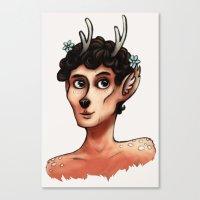 Fawnlock Canvas Print