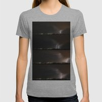 Stormed Womens Fitted Tee Athletic Grey SMALL