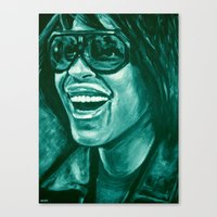 Keep Smiling Option Two! Canvas Print