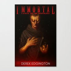 Immortal: Curse of the Deathless (COVER) Canvas Print