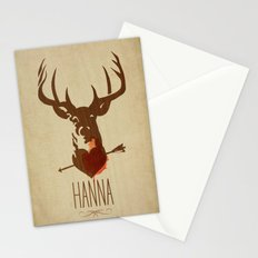 HANNA film tribute poster Stationery Cards