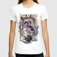 Designing Will Graham Womens Fitted Tee White SMALL