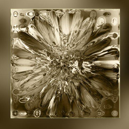 Glass Block Art Print