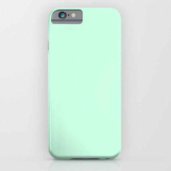 Aero blue iPhone & iPod Case