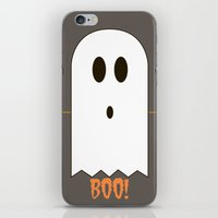 You Look Like You've Seen  A Ghost iPhone & iPod Skin