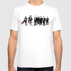 Reservoir Brothers Mens Fitted Tee White SMALL